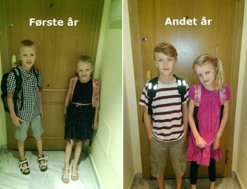 Den første skoledag