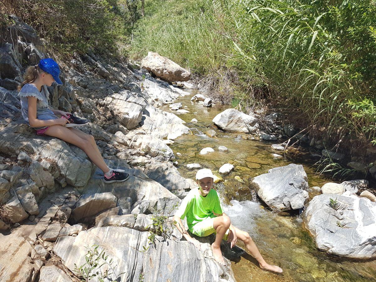 Vandretur ved Barranco Blanco